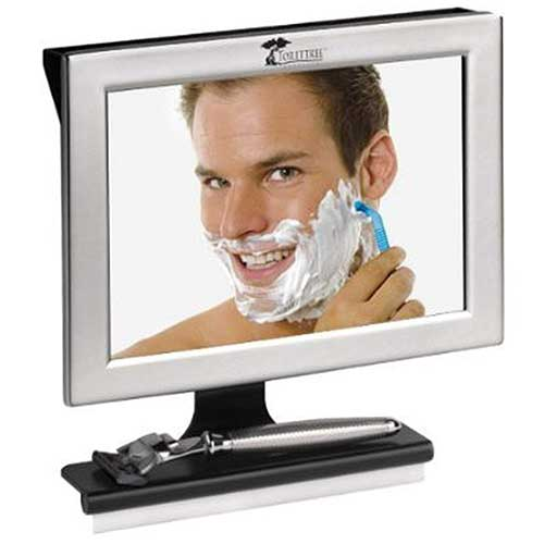 1. ToiletTree Products Fogless Shower Mirror with Squeegee