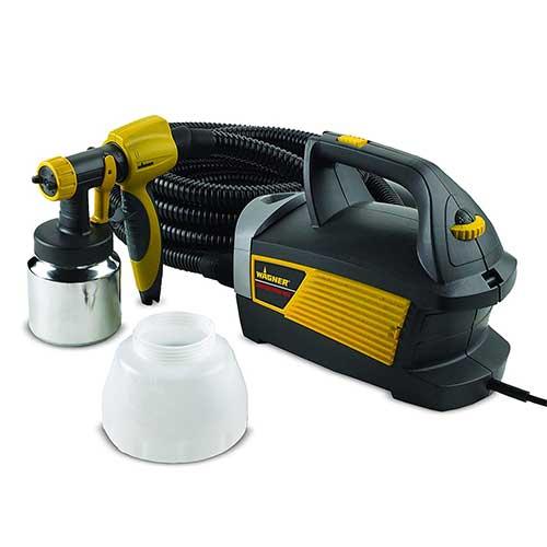 Best Airless Paint Sprayers Under 500 4. Wagner Spraytech 0518080 Control Spray Max Corded Hvlp Paint Sprayer, 120 Vac, 5 A, 510 W, 80 Cfm, 2.7 Psi
