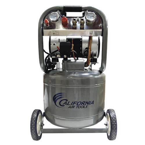 Best Oil Free Compressors 10. California Air Tools CAT-10020 Ultra Quiet and Oil-Free 2.0 HP 10.0-Gallon Steel Tank Air Compressor