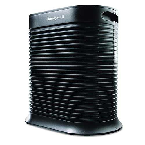 Best Air Purifier for Allergies and Pets 5. Honeywell True HEPA Allergen Remover, 465 sq. Ft, HPA300, Extra-Large Room, Black