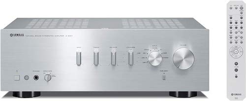5. Yamaha A-S301 (S) Integrated Amplifier 192kHz / 24bit high-resolution sound source corresponding Silver