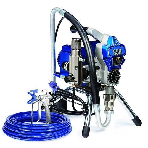 Best Airless Paint Sprayers Under 500 9. Graco 390 ProConnect Electric Airless Paint Sprayer - Stand Style 17C310