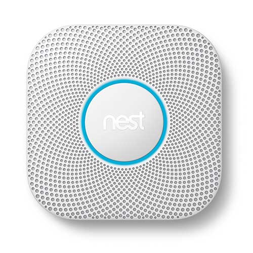 Best Smoke Detectors for Kitchen 10. Nest S3000BWES Nest Protect 2nd Gen Smoke + Carbon Monoxide Alarm, Battery