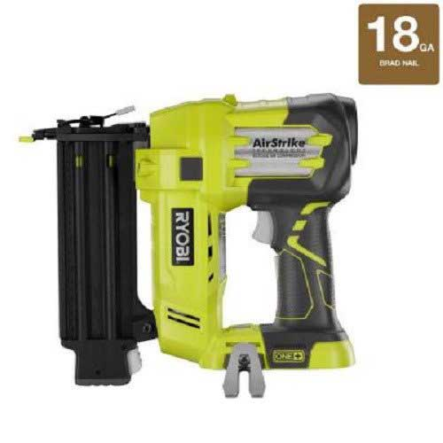 7. Ryobi ZRP320 ONE Plus 18V Cordless Lithium-Ion 2 in. Brad Nailer Battery and Charger Sold Separately (Renewed)