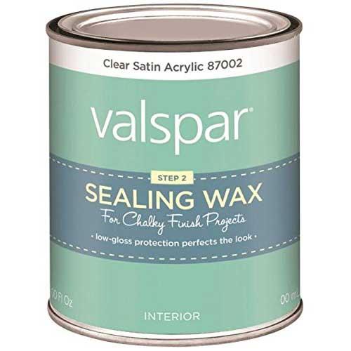 6. VALSPAR Corp 410.0087002.004 Valspar Chalky Clear Sealing Wax