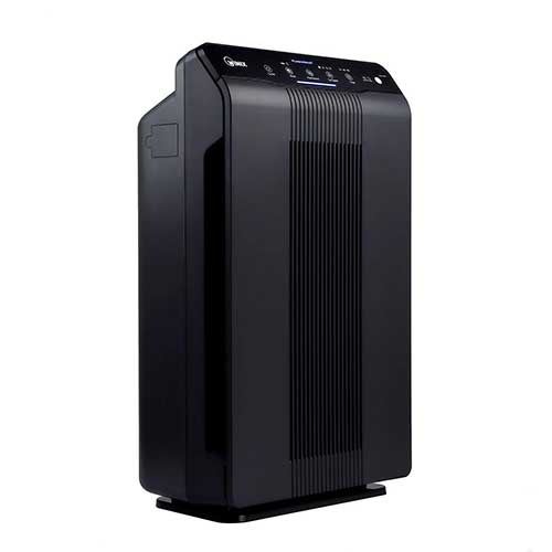 Best Air Purifier for Allergies and Pets 8. Winix 5500-2 Air Purifier with True HEPA, PlasmaWave and Odor Reducing Washable AOC Carbon Filter