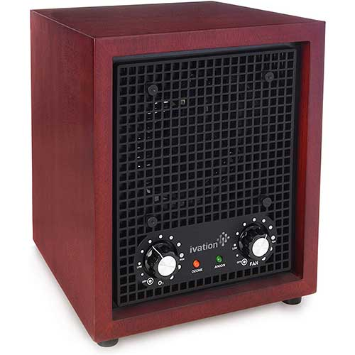 1. Ivation Ozone Generator Air Purifier.