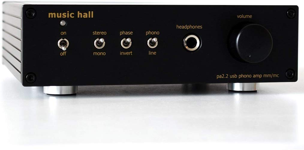 6. Music Hall pa2.2 MM/MC Phono Preamplifier