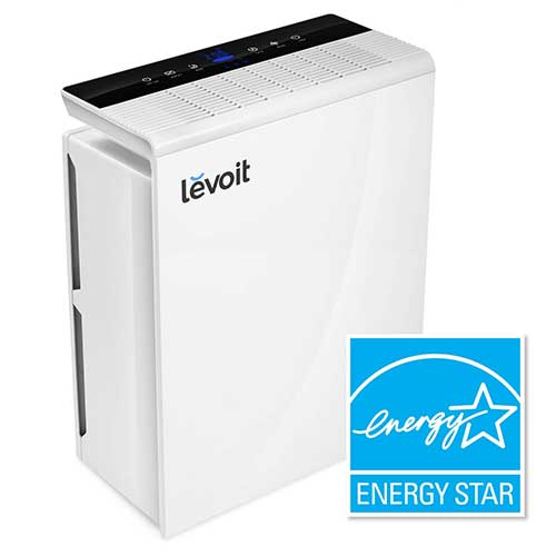 Best Air Purifier for Allergies and Pets 4. LEVOIT Air Purifier for Home Large Room, Quiet Odor Eliminators for Bedroom, Energy Star, Smart Sensor, LV-PUR131