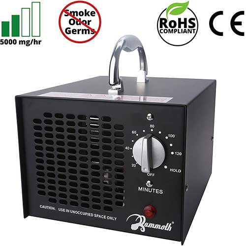6. Mammoth 5000 mg Commercial Ozone Generator.