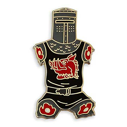 1. Pinsanity Black Knight Just a Flesh Wound Enamel Lapel Pin