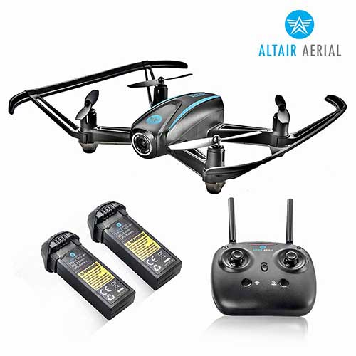 7. Altair #AA108 Camera Drone Great for Kids & Beginners, RC Quadcopter w/ 720p HD FPV Camera VR