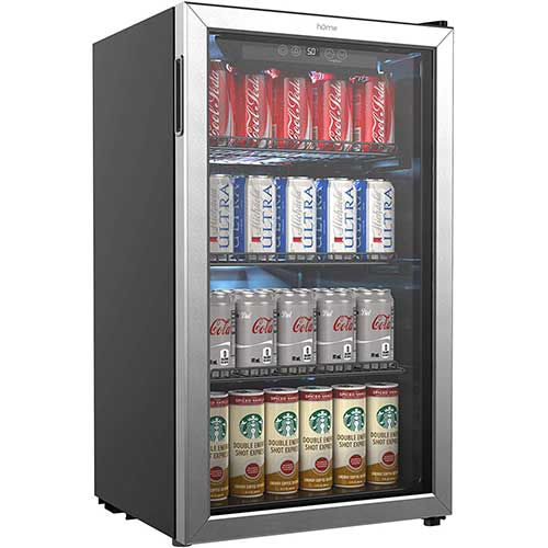 3. hOmeLabs Beverage Refrigerator and Cooler