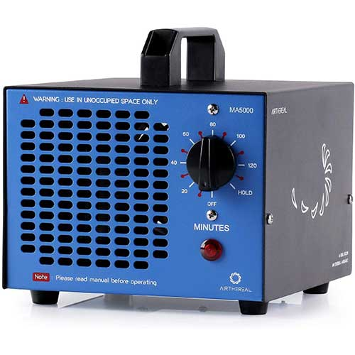 7. AirtherealMA5000 Commercial Generator 500mg/h Ozone Machine Air Purifier.