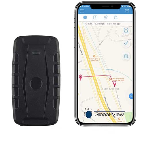 1. Global-View.Net Hidden Magnetic GPS Vehicle Tracking Device