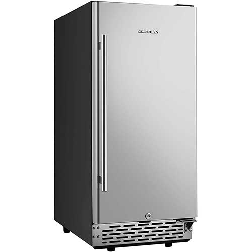 4. Phiestina 15 Inch Built-in Beer Froster Refrigerator
