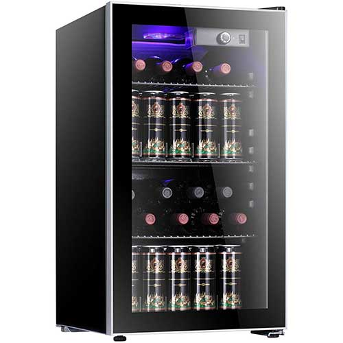 8. Antarctic Star 26 Bottle Wine Cooler/Cabinet Beverage Refrigerator