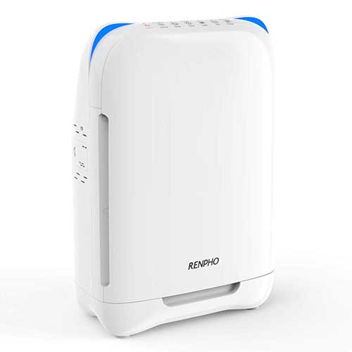 Best Air Purifier for Allergies and Pets 6. RENPHO Air Purifier for Home Large Room, HEPA Filter Air Purifiers for Allergies and Pets