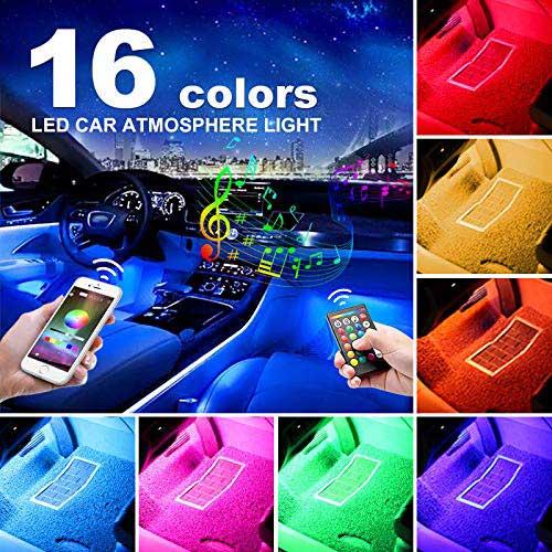 8. AUXITO Car LED Strip Lights