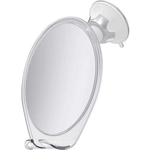 2. HoneyBull Fogless Shower Mirror for Shaving