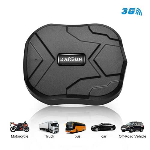 9. BARTUN 3G GPS Tracker for Vehicles Magnet GPS Locator Real Time Wireless Waterproof IP65 Tracking Devices