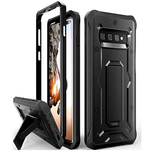 2. ArmadilloTek Vanguard Designed for Samsung Galaxy S10 Plus Case (2019 Release)