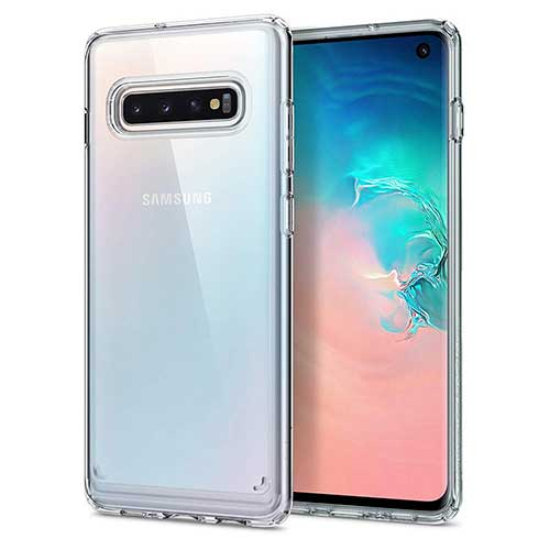 8. Spigen Ultra Hybrid Designed for Samsung Galaxy S10 Case