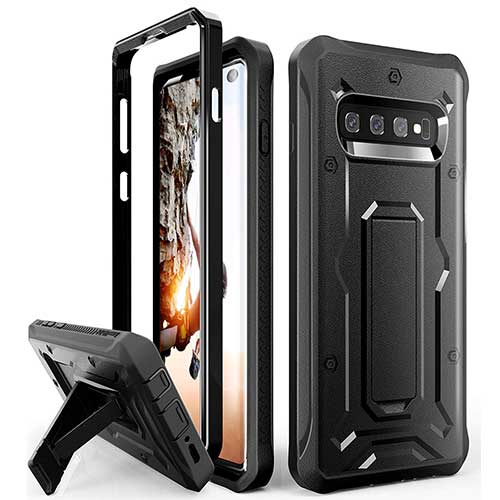 2. ArmadilloTek Vanguard Designed for Samsung Galaxy S10 Case