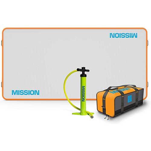 9. MISSION Boat Gear Leaf Mat Inftalatble Dock.