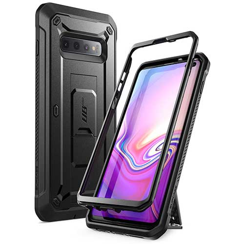 5. SUPCASE Unicorn Beetle Pro Series Designed for Samsung Galaxy S10 Plus Case (2019 Release)