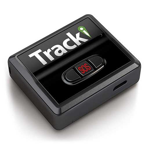 2. Tracki 2019 Model Mini Real-time GPS Tracker. Full USA, CA & Worldwide Coverage. For Cars, Kids, Pet, Drone, Vehicle spy. Small Portable GPS Tracking Device, Magnetic Mount, SOS Button