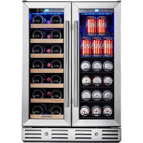9. Kalamera 24'' Beverage and Wine Cooler