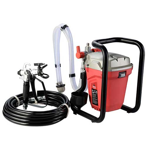 Best Airless Paint Sprayers Under 500 8. TOMIC Himalaya Airless Paint Sprayer Spray Gun Power Painter 3000PSI High Pressure 5/8HP(650W)