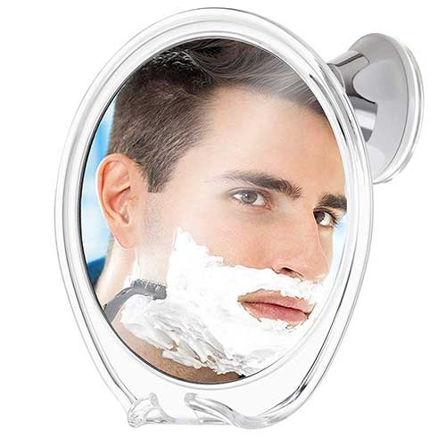 6. Asani Fogless Shower Mirror for Shaving with Razor Hook