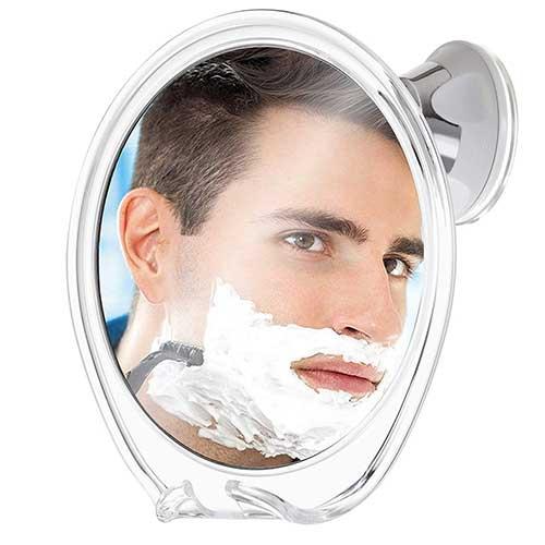6. Asani Fogless Shower Mirror for Shaving with Razor Hook