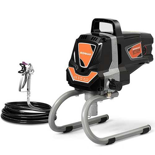 Best Airless Paint Sprayers Under 500 10. Electric Paint Sprayer Spray Gun, High Pressure Spraying Machine, 3000 PSI Power Painting Spray Gun, 0.4 GPM by Goplus