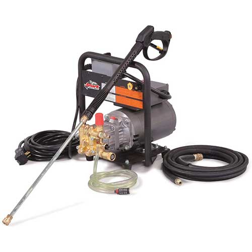 2. Shark HE-201406D 1,400 PSI 1.8 GPM 120 Volt Electric Light Industrial Series Pressure Washer