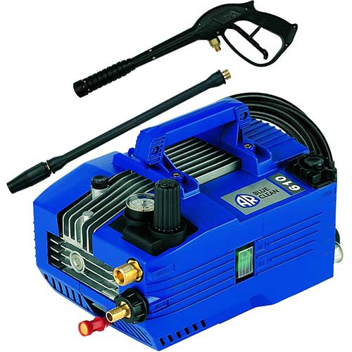 9. AR Blue Clean AR610 Industrial Grade 1350 PSI 1.9 GPM Electric Hand Carry Pressure Washer