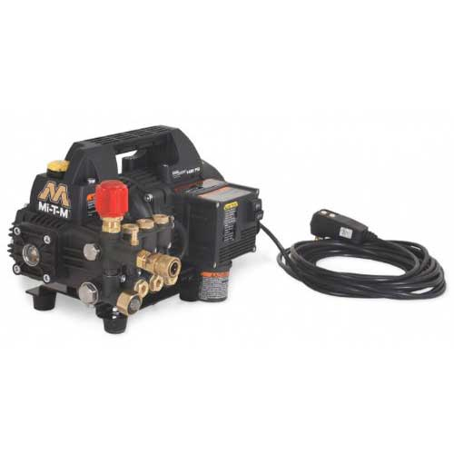 3. Mi-T-M CM-1400-0MEH Cold Water Electric Drive, 1.5 HP Motor, 120V, 13A, 1400 PSI Portable Pressure Washer