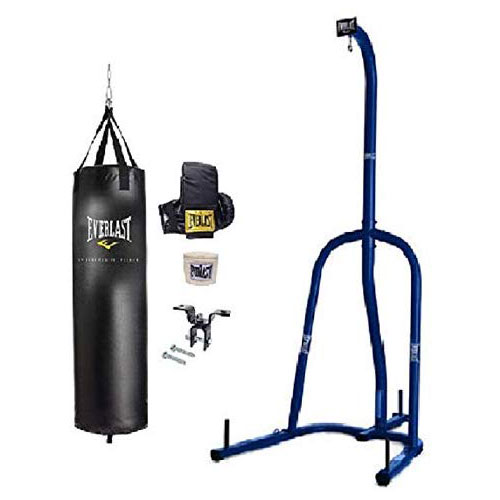 10. Everlast Heavy Bag Kit with stand (70)