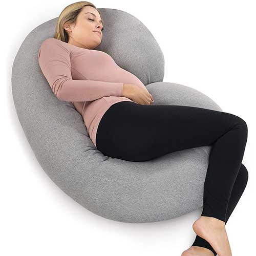 1. PharMeDoc Pregnancy Pillow