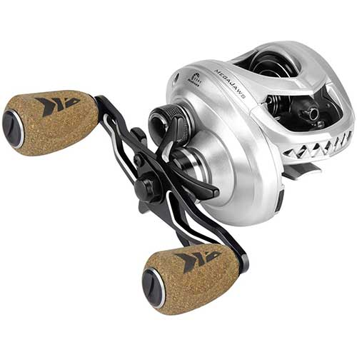 4. KastKing MegaJaws Baitcasting Reel, Industry First Color-Coded Gear Ratios from 5.4:1 to 9.1:1, Fishing Reel