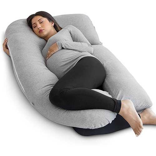 2. PharMeDoc Pregnancy Pillow