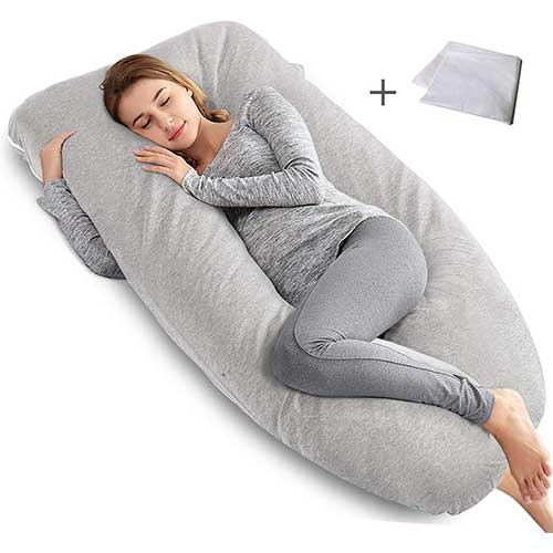 10. AngQi Pregnancy Pillow
