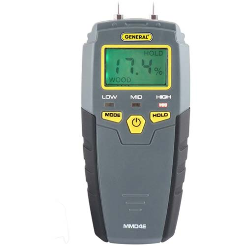 1. General Tools MMD4E Digital Moisture Meter