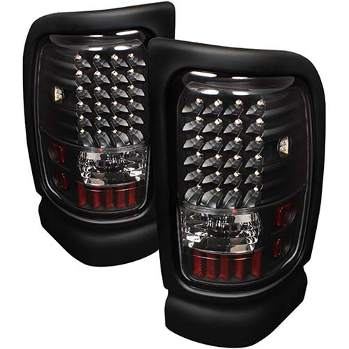 1. Spyder Auto ALT-ON-DRAM94-LED-BK Dodge RAM 1500/2500/3500 Black LED Tail Light