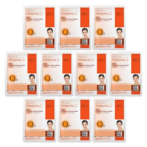 6. DERMAL Collagen Essence Facial Mask Sheet