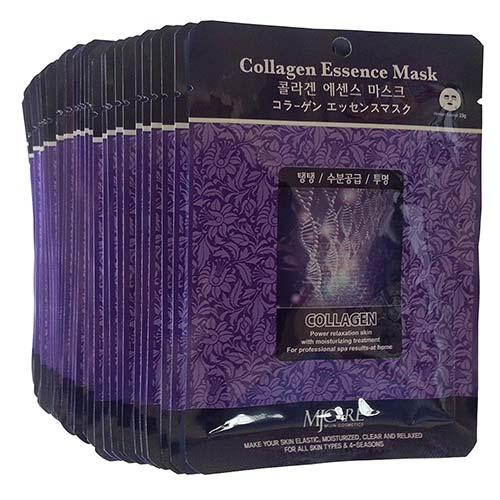 5. MJ Collagen Essence Face Skin Mask