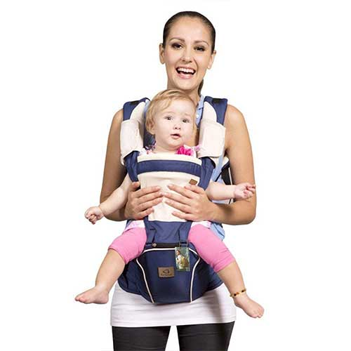 2. Bebamour New Style Designer Sling and Baby Carrier 2 in 1