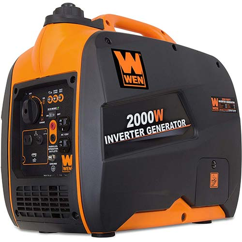 1. WEN 56200i Super Quiet 2000-Watt Portable Inverter Generator,
